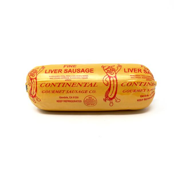 Fine Liverwurst Chub w/ spices 8oz.