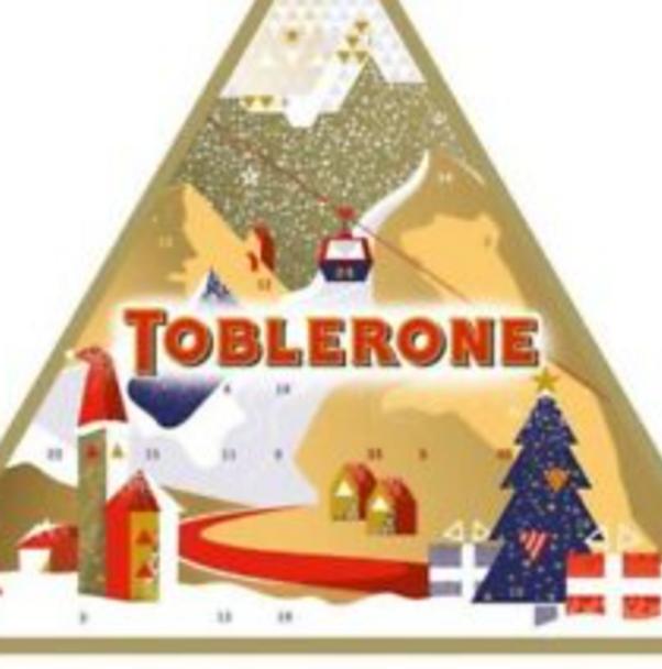 Toblerone Christmas Calendar (200g)