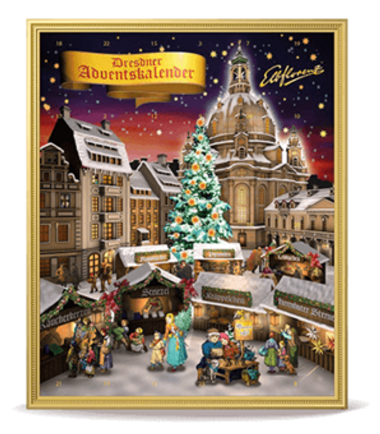 DRESDNER STOLLEN CONFECTIONERY ADVENT CALENDAR 480G