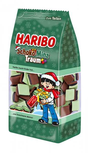 Haribo Schoko-Minz Traum 300g
