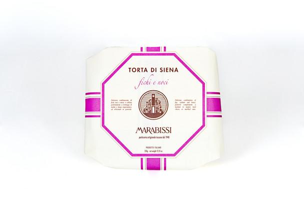 Marabissi Torta di Siena Fichi e Noci 3.53oz (100g)