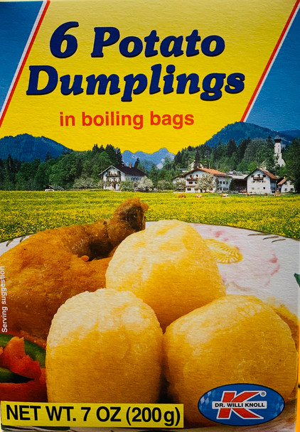 Dr. Knoll 6 Potato Dumplings 7oz (200g)
