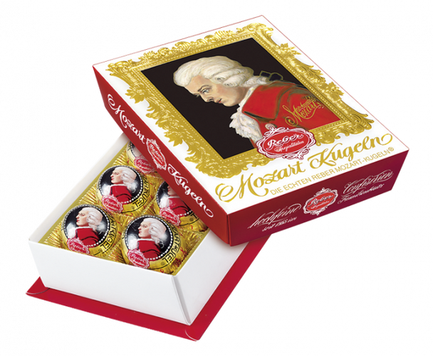 Reber Mozart Kugeln 120g