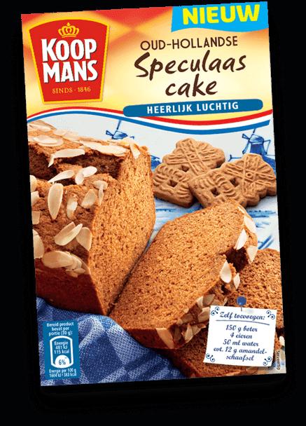 Koopmans Oud-Hollandse Speculaas Cake Heerlijk Luchtig 14.1oz. (400g)