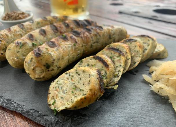 Chicken Spinach Sausages (4) per 1 lb.
