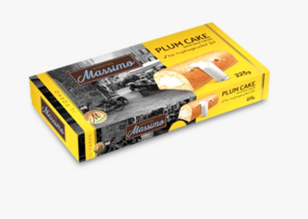 Maestro Massimo Plum Cake with Milky Cream 7.94oz (225g)