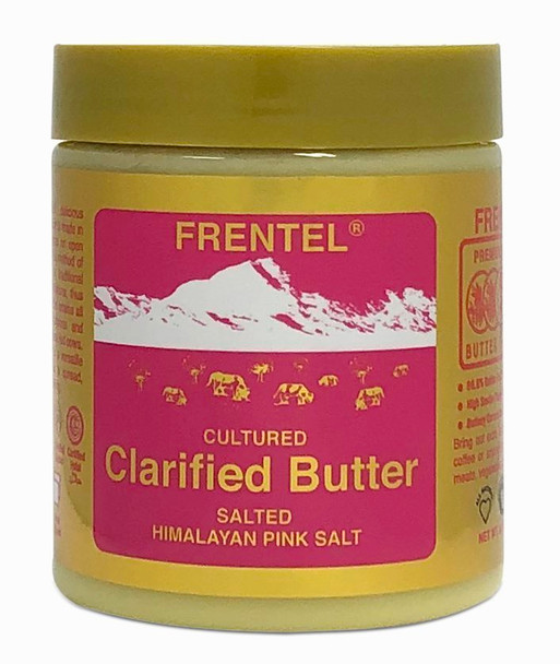 Frentel Ghee Cultured Salted Clarified Butter 8.4 OZ