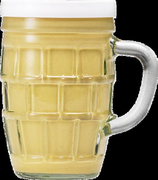 Kuhne Traditional German Mustard mit Stein 255g