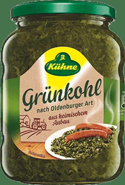 Kuhne Grunkohl Holsteiner Traditional 25.2oz (720g)