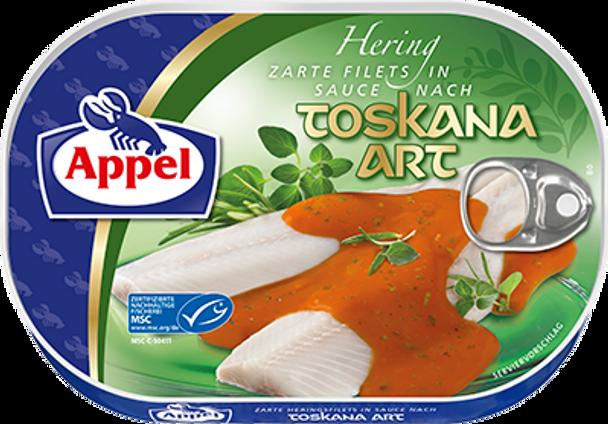 Appel Herring Fillets in Toskana Sauce 200g
