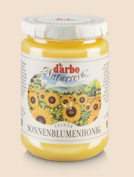 Darbo Naturrein Sonnenblumenhonig 500mg
