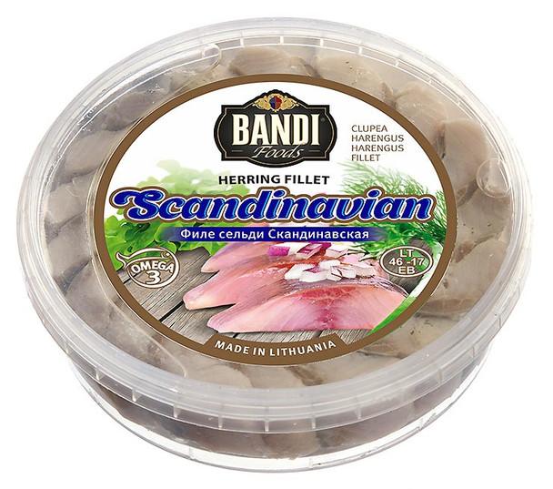 Bandi Scandinavian Herring Fillet 500g (refrigerated)