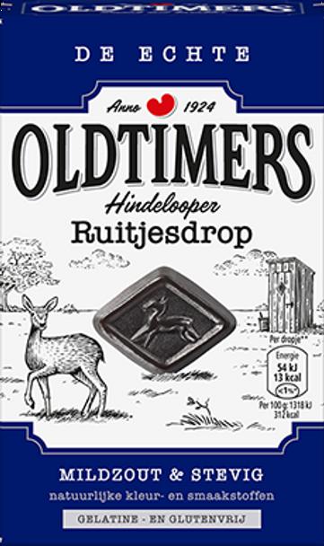 De Echte Oldtimers Hindelooper Ruitjesdrop 235g