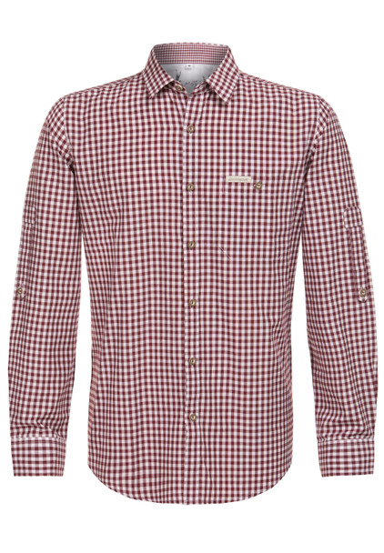 Stockerpoint Traditional Shirt Campos3 Bordeaux