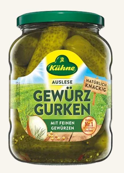 Kuhne Gewurz Gurken 24.3 oz