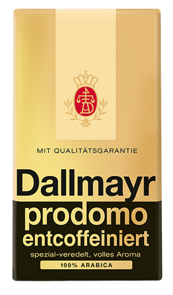 Dallmayr Prodomo Decaf Ground Coffee 17.6oz (500g)