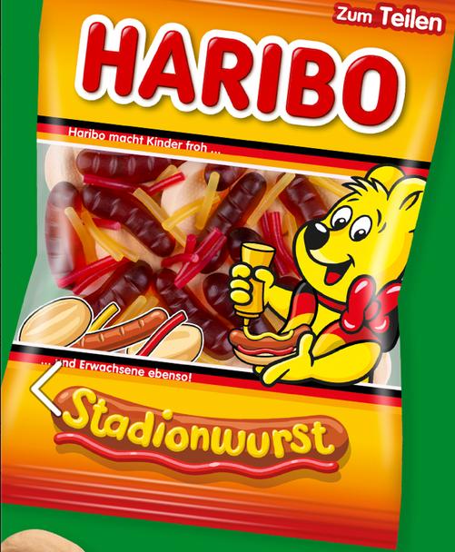 Haribo Stadionwurst 175g