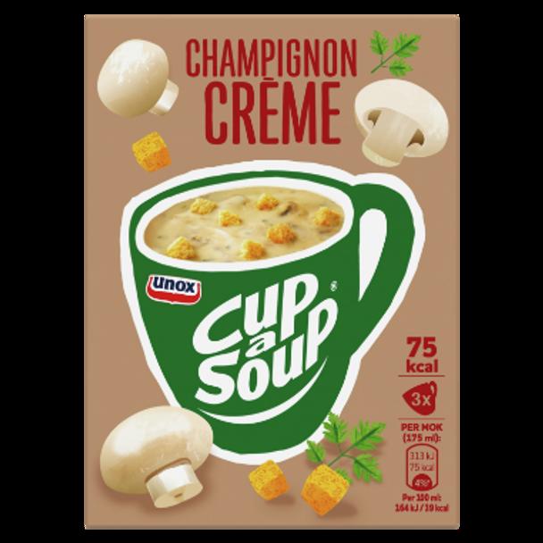 Unox Champignon Creme Cup a Soup 3 pack