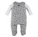 Baby Full Body Romper Deer Grey