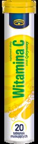 Kruger Multi-Vitamin - 20 effervescent mineral tablets - 90mg