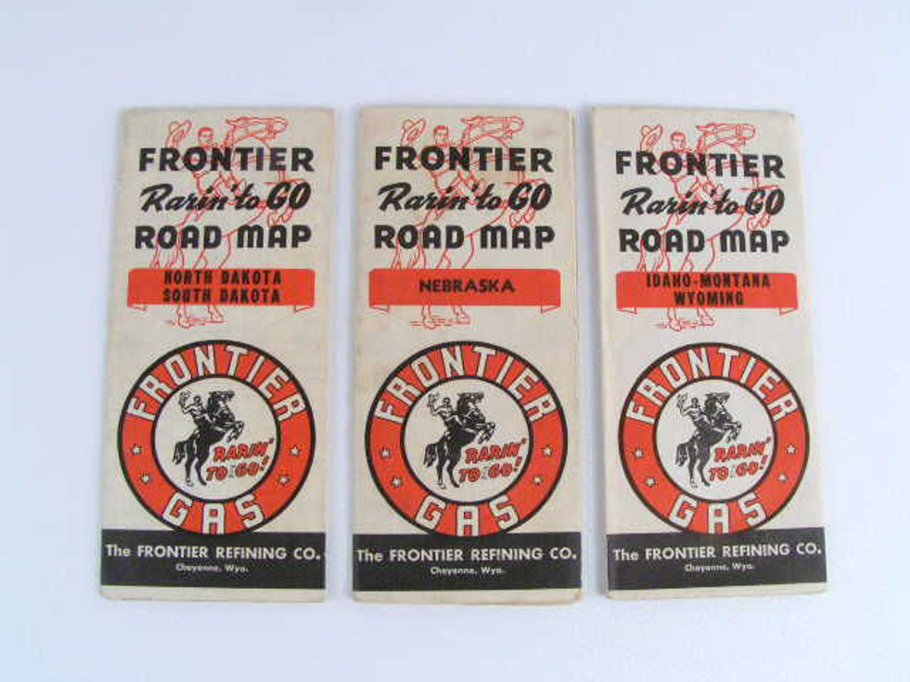 These are vintage Frontier Gas