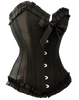 Start with a Plain Black Corset Top and add your accessories