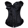 Strong Heavy Fabric will ensure that you can wear this as an affordable formal corset top.