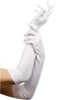 These Extra long Satin White Gloves are perfect for many occasions.