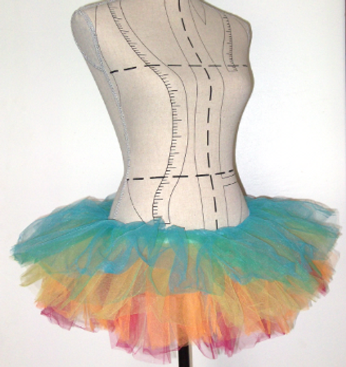 Super Stretchy Tutu will fit up to size 14 waistline
