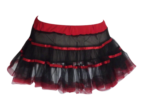 Cute Black Tutu Will Fit Size 6 to 10 (90cm waistline)