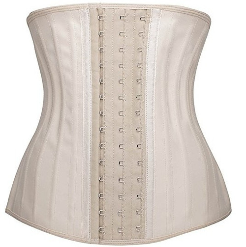 7144c18d93d ... Latex Waist Trainers have 3 size hook and eyes for comfort easy to wear