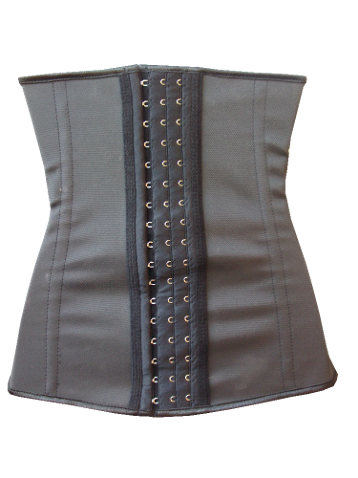 9fea89f4b6558 Latex Waist Trainers have 3 size hook and eyes for comfort