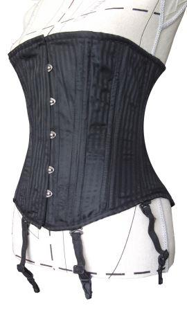 dda981bab Professional Fully Steel Boned Waist Shaper with detachable Garters