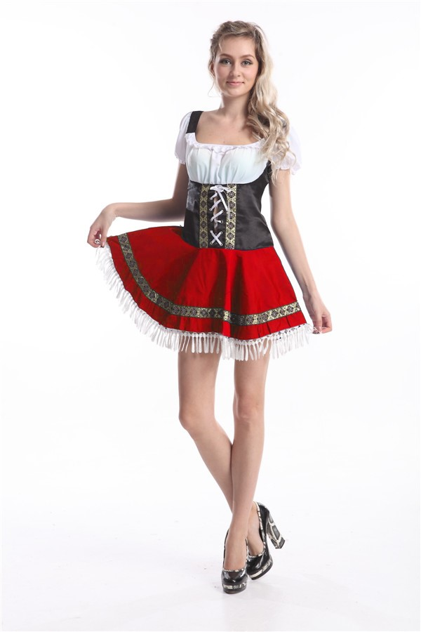 b8bb67a7a5 Sexy Beer Maid Costume available in Plus Sizes and a Free Gift