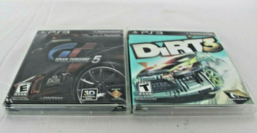 Pre Owned 2 Play Station Games Gran Turismo 5 & Dirt 3