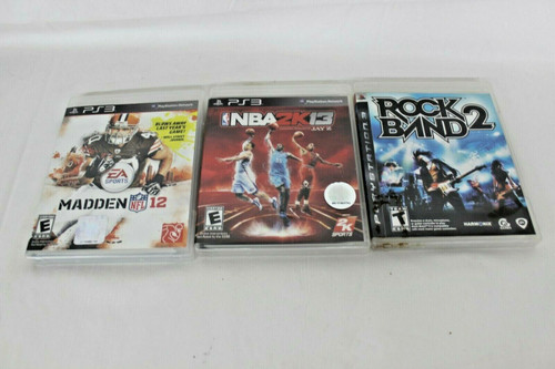 Pre Owned 3 Play Station 3 Games
