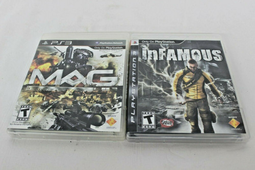 Pre Owned 2 Play Station 3 Games Mag & Infamous