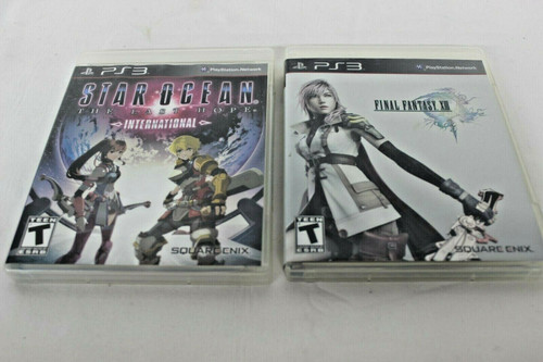 Pre Owned 2 Play Station 3 Games, Star Ocean & Final Fantasy XIII