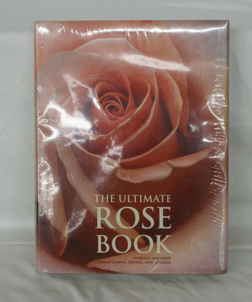 New, Sealed The Ultimate Rose Book By Stirling Macoboy - Hardcover