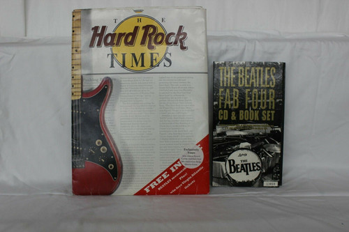 Hard Rock Cafe ® Times London 20th Anniversary Package & The Beatles Fab 4 CD