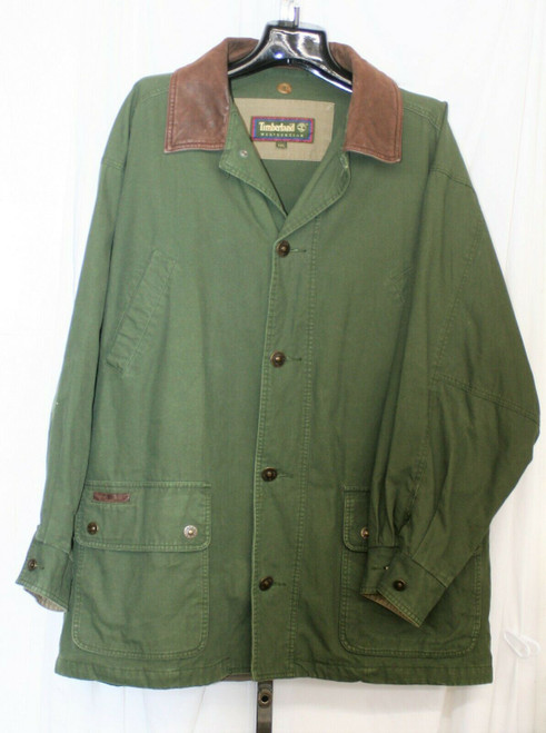 Pre-Owned Timberland Weathergear Jacket Men's  Durable Olive Green Sz. XXL
