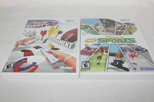 Pre Owned Wii Deca Sports & Game Party 2