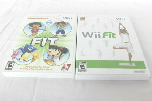 Pre Owned Wii Fit, Nickelodeon & Fit