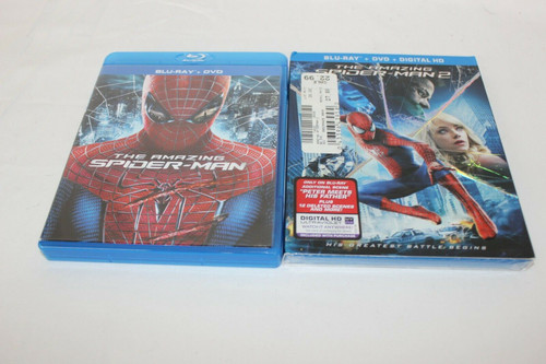 The Amazing Spider-Man (Pre Owned) & The Amazing Spider-Man 2 (New DVD)