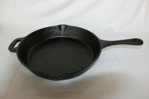 T-fal Nonstick Durable Cast Iron Skillet / Fry pan Cookware, 12-Inch, Black