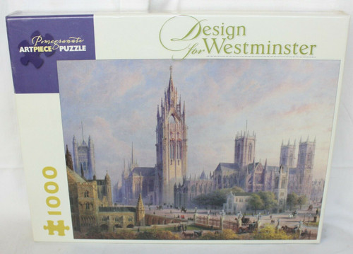 NEW - Pomegranate Artpiece Puzzle 1000 - Design for Westminster - John Gaye