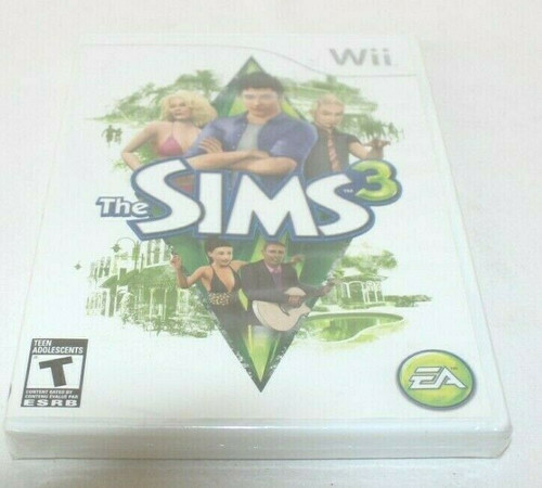 The Sims 3 Wii [Brand New] SEALED in the package