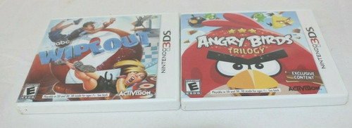 Pre Own Nintendo 3DS Games, Angry Birds Trilogy & abc Wipeout