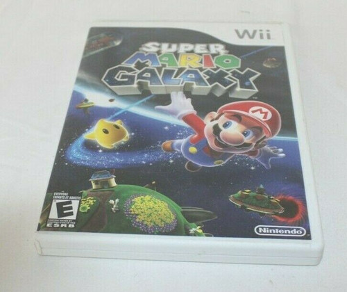 Pre Owned Super Mario Galaxy (Nintendo Wii, 2007) Complete With Manual