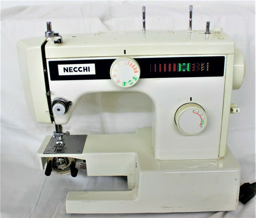 Vintage Necchi Sewing Machine Model 3101FA With Foot Pedal 90913899